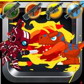 Red Rangers Robot VS Dinosaurs 1.0.2
