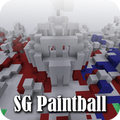 Map SG Paintball Minecraft
