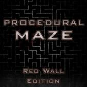 Procedural Maze Red Wall Edition 1.2