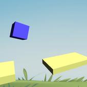 Cube hop-jump