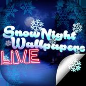 Snow Night Live Wallpaper 1.4