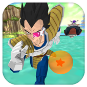 Super Saiyan Prince Vegeta Ultimate Dragon 3D Run 1.0