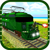 Gunship Bullet Train Battle 3D 1.1