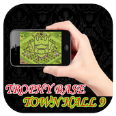 Town Hall 9 Trophy Base Maps 1.0
