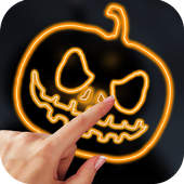 Draw Neon Pumpkin 1.0