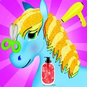 unicorn hair style game 1.0