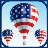 American Patriotism - US Flags