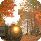 Steam trains. HD wallpapers 1.0