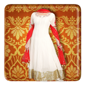Wedding Saree Photo Suit 1.8
