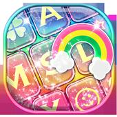 Rainbow Glitter Keyboard 1.2