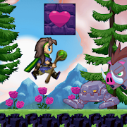 Trishas Jump Land - Super Mage World - Arcade runJacPeteArcade