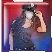 Women Police Photo Suit Maker 1.0