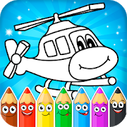 Coloring pages for children : transport 1.0.6