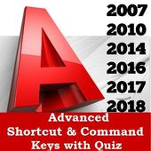 AutoCAD Shortcuts Keys 3D & 2D Commands 1.8