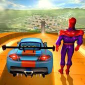 Superhero Car Impossible Mega Ramp Stunts 1.1.4
