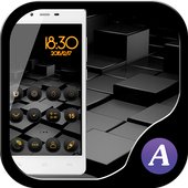 Cool black theme-ABC launcher 1.3.0
