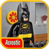 Acrostic LEGO Bat Hero City 1.0