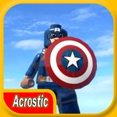 Acrostic LEGO Captain A 1.0