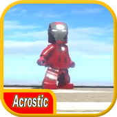 Acrostic LEGO I Man Battle 1.0