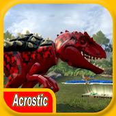 Acrostic LEGO Jurassic Batle 1.0