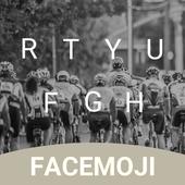 Bike Marathon Keyboard Theme & Emoji Keyboard v1.0