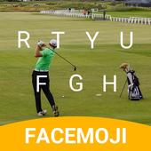 Golf Open Emoji Keyboard Theme for British Open v1.0