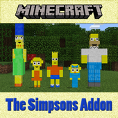 The Simpsons Addon for MCPE 1.0