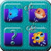 Memory Match Ocean Fish 1.0