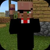 Mod Black Villager for MCPE 1.0