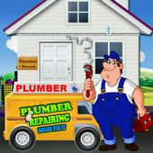 Plumber Repairing House Fix It – Home Repair Game