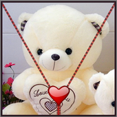 Teddy Bear Zipper Screen Lock 1.4