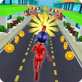 Ladybug Subway Surfing: Free Cat Noir Subway Game 1.0.23