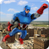 Super Hero Flying Spider-Grand City Rescue Mission 1.3
