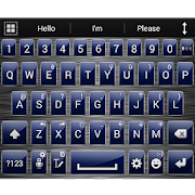 Theme for A.I.type Metal Blue 1.3