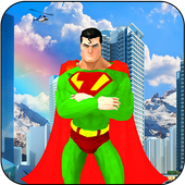 Flying Super Hero City Rescue Missions 1.0
