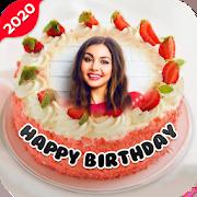 Name Photo on Birthday Cake 15.0