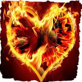 Golden heart live wallpaper 2.1