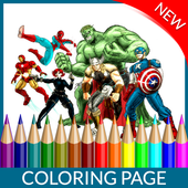 Coloring Page Of Avenger 1.1.0