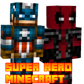 Superhero Skins for Minecraft 1.0