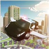Flying Cop Car 3D