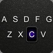 Black Typing Keyboard Theme 1.0.1.18