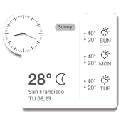 Clock Weather Small Clock 3.0.1_release