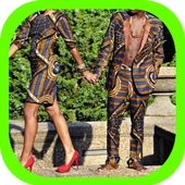 African Couple Dresses Fashion