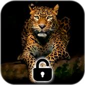 Leopard Dark Black AMOLED Lock Screen Wallpaper 1.0