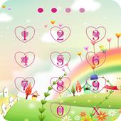 Applock Theme rainbow 2
