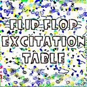 Flip Flop Excitation Table 1.0.2