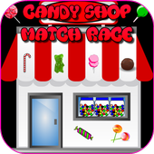Candy Shop Match Race Game