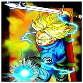 Trunks Saiyan Warrior Kameha Anime Battle Game 🔥 1.2.1