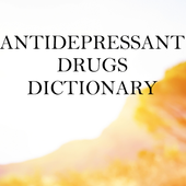 Antidepressants Dictionary 3.0