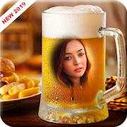 Beer Glass Photo Frame 2.7